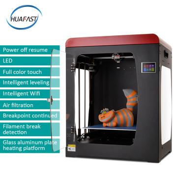 HUAFAST HS-334 3D Printer 300x300x400mm Full Metal Large Printing Size Platform 3d Printer Diy kit Resume Power Failure Print
