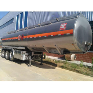 Aluminum Alloy Fuel Truck Trailer