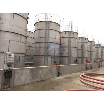 Large quality stainless steel storage tank