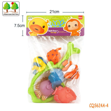 CQS624A-4 CQS soft toys 6PCS and fishing net