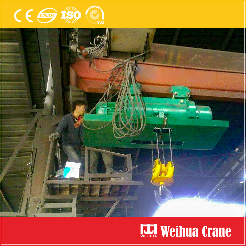 Metallurgy Hoist Single Girder Crane