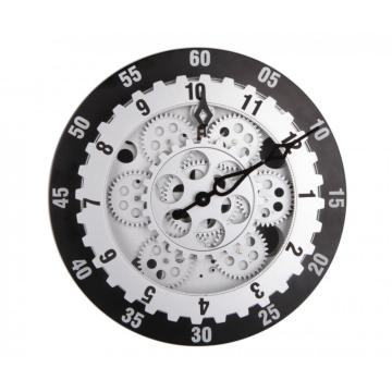 12 Inch Round Circle Gear Wall Clock