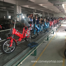 Motorcycle Assembly Line Slat Chain Conveyor