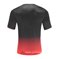 Mens Dry Fit Soccer Wear T Shirt Red