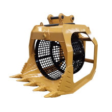 Discount Price 30T Excavator Rotary Screen Bucket