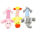 1PC Plush/Rubber Dog Chew Squeak Toys