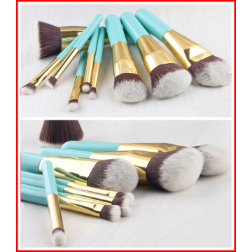 9PC Mini Travel Makeup Brush Set