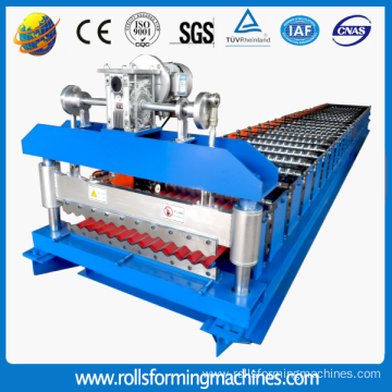 construction corrugated sheet roll forming machine