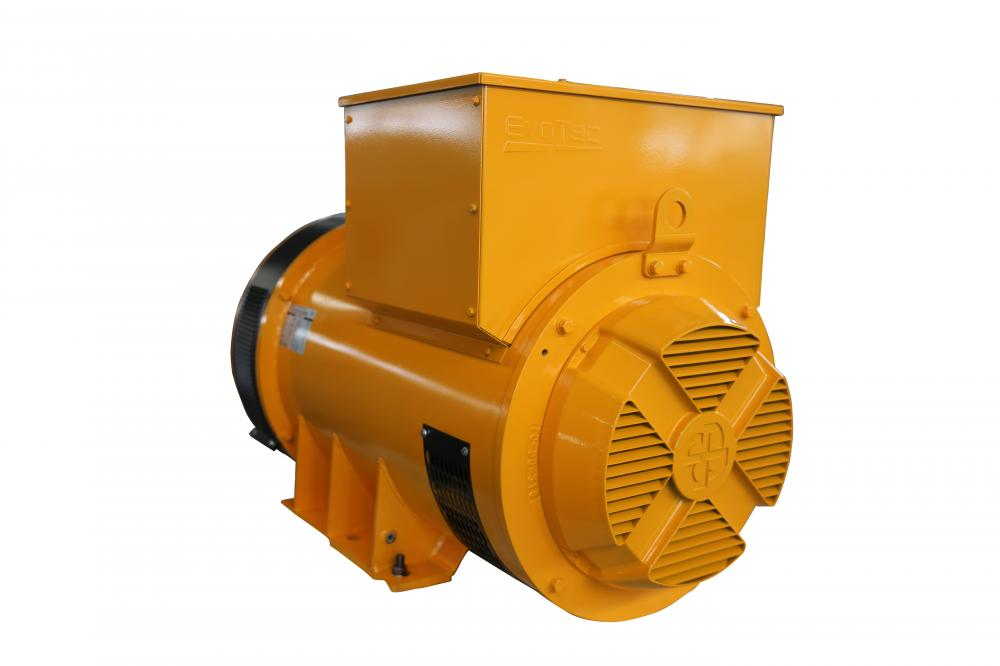 Yellow Color Three Phase Alternator