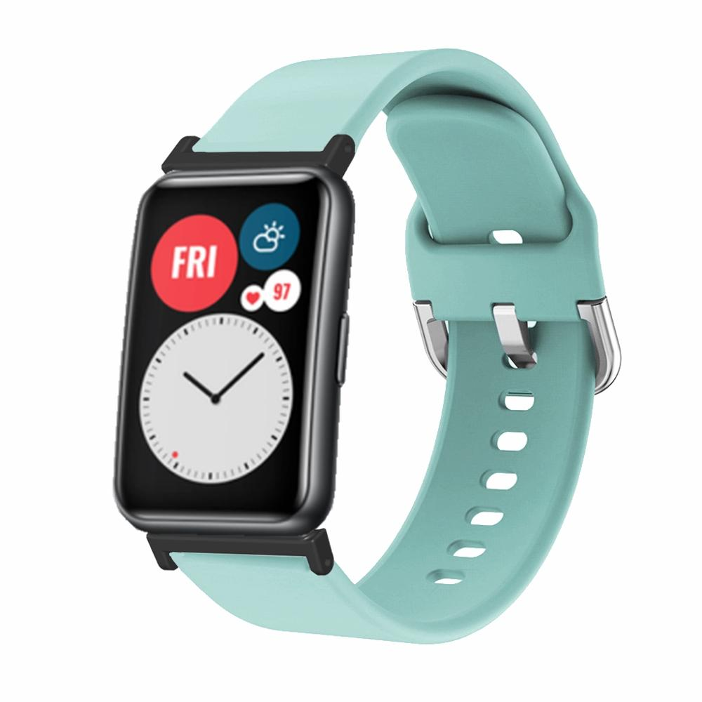 FIFATA Silicone Bracelet For Huawei Watch Fit Wristband High-quality Sports Strap For Huawei Fit Smart Watch Band Accessories