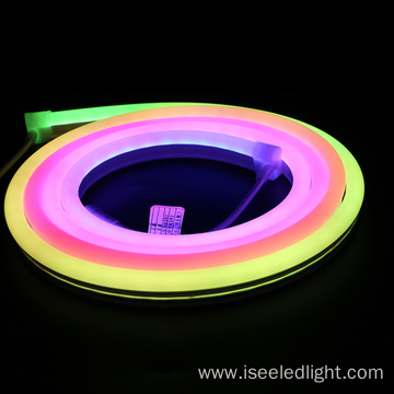 DMX RGB flexible neon strip IP67 DC24V