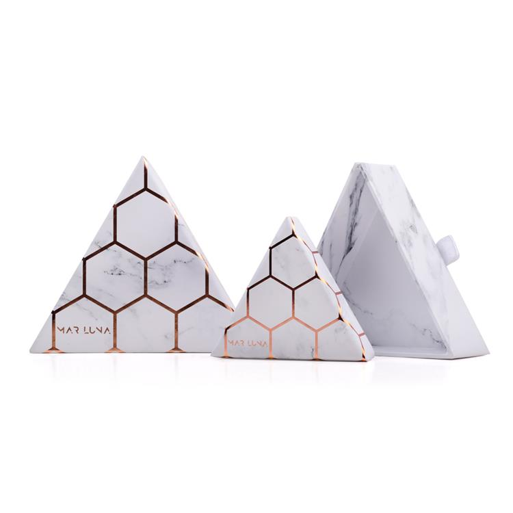 New Design Triangle Shape Gift Cardboard Paper Box