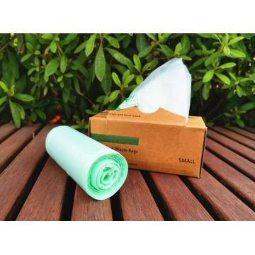 Biodegradable Compost Plastic Trash Bags On Roll