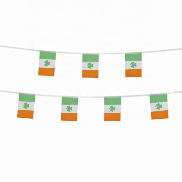 Outdoor decoration all countries ireland string bunting flag