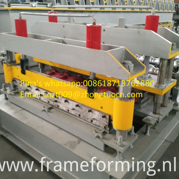 steel sheet roof sheet roll forming machine line 19