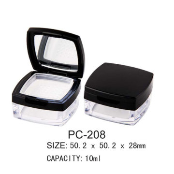 Square Empty Loose Powder Container