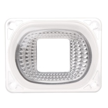 LED Lens Reflector For LED COB Lamps PC lens+Reflector+Silicone Ring Cover shade #Sep.08