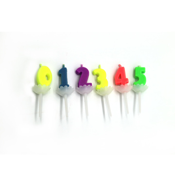Magic color flame candles