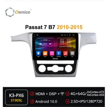 Ownice Android 10.0 Octa Core 2Din Car DVD Player Radio GPS Navi ForVolkswagen passat 7 B7 2010 - 2015 Multimedia HeadUnit DSP