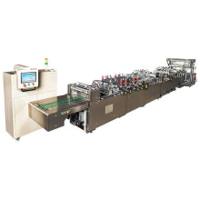 three or center bag making machine