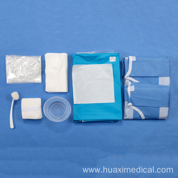 Nonwoven SMS Sterile Disposable Caesarean Drape Pack