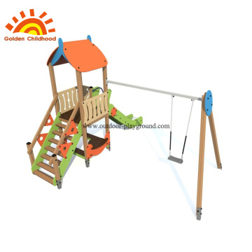 Outdoor Playground HPL Simple Playset Equipment