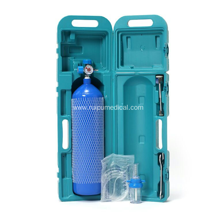 Hospital Portable 4L Medical Oxygen Cylinder Set