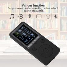 earphone Portable Screen MP4 Music Player Support 32GB TF Card with Headphone Long Standby Time auriculares with radio FM record