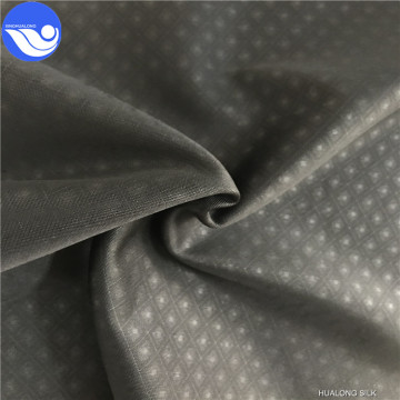 100% Polyester Colorful Super Poly emboss fabric