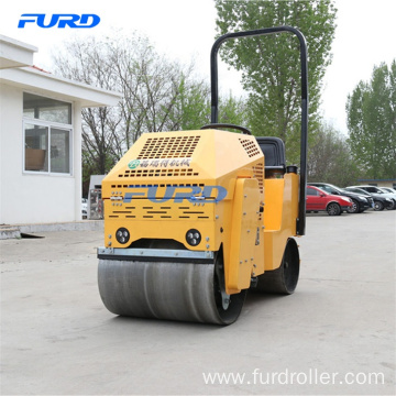 Color Optional Road Roller with Vibratory Smooth Drum