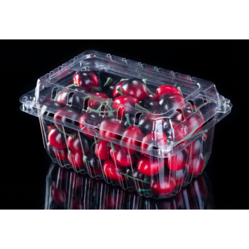 1#B HV clamshell Disposable rPET plastic clamshell  for Grape