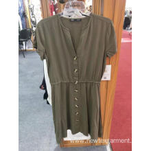 V Neck Dresses Casual Garments for Ladies
