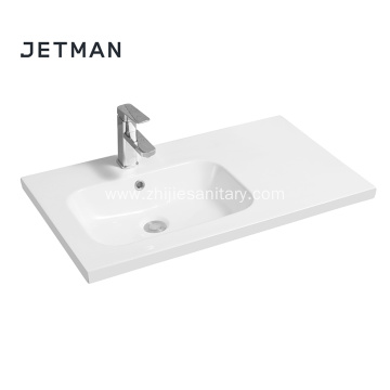 New model top square wash basin