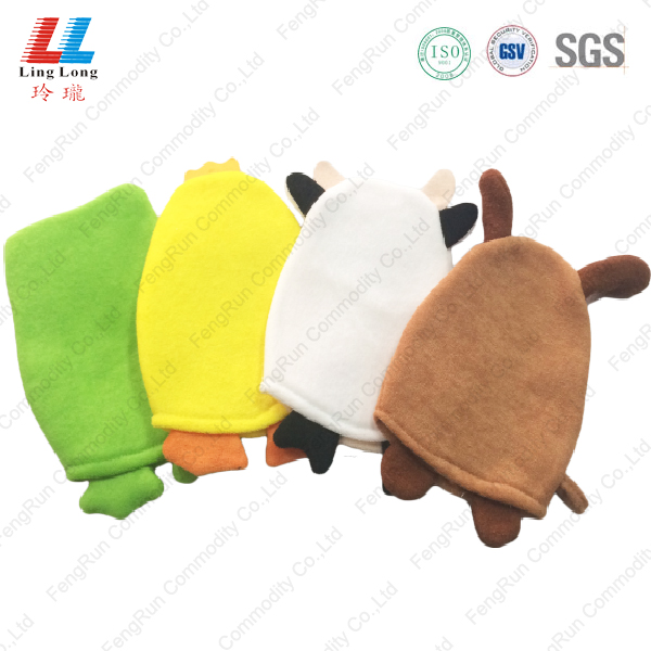Newst 3D animal bath children gloves