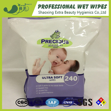 Aloe Vera Alcohol Free Baby Wet Tissues