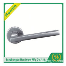 SZD STLH-010 Competitive Price Sprung Lever 19 Mm Door Handle On Round Rose Stainless Steel