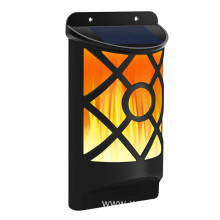 Solar Outdoor Flickering Dancing Flame Wall Light