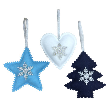 Christmas tree ornaments with Nordic style