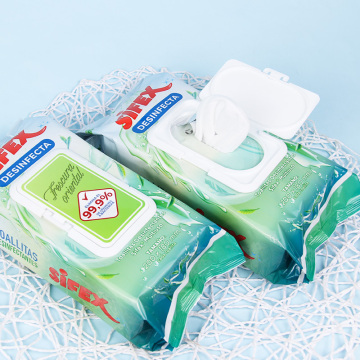 Non Alcoholic Antiseptic Wipes for Cleaning