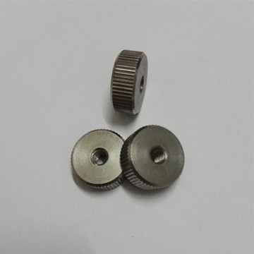 Knurled CNC Milling Machined Brass Turning Parts
