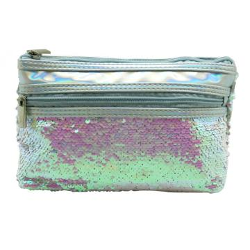 SILVER MERMAID SEQUIN PENCIL CASE-0