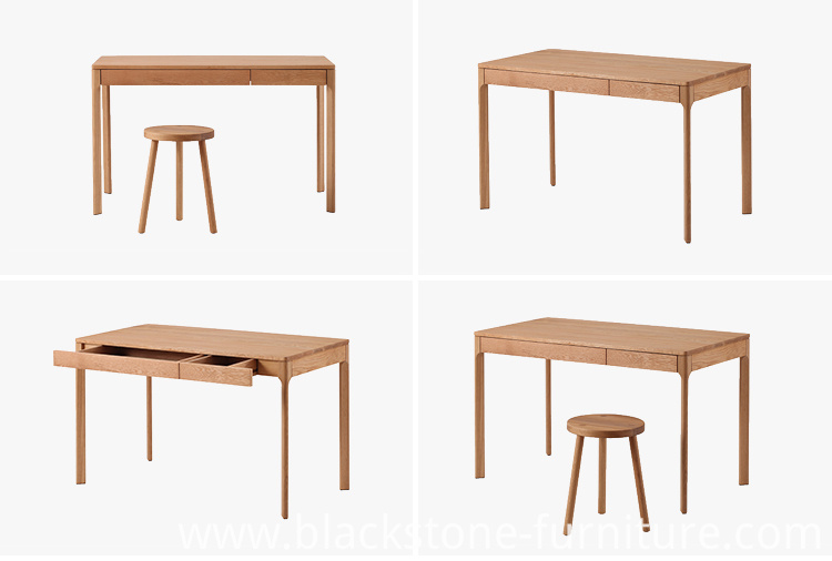 Oak Writing Table From Ailsa