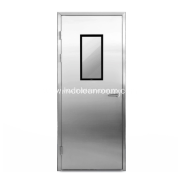 Stainless steel medical sliding door