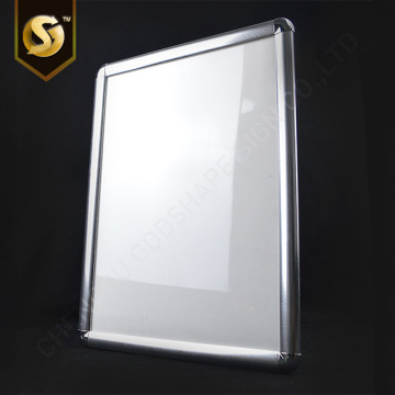 A3 Shine Silver 25mm Snap Frame Poster Frame