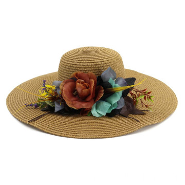 Shade cap summer hat beach straw hat