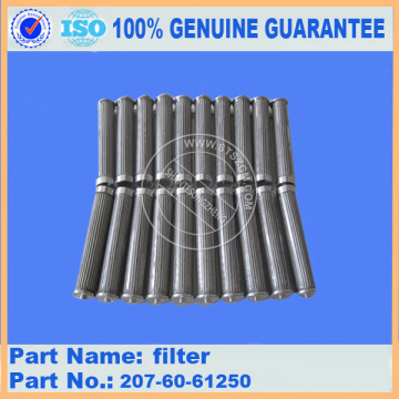 Excavator PC300-7 hydraulic filter Element 207-60-71181