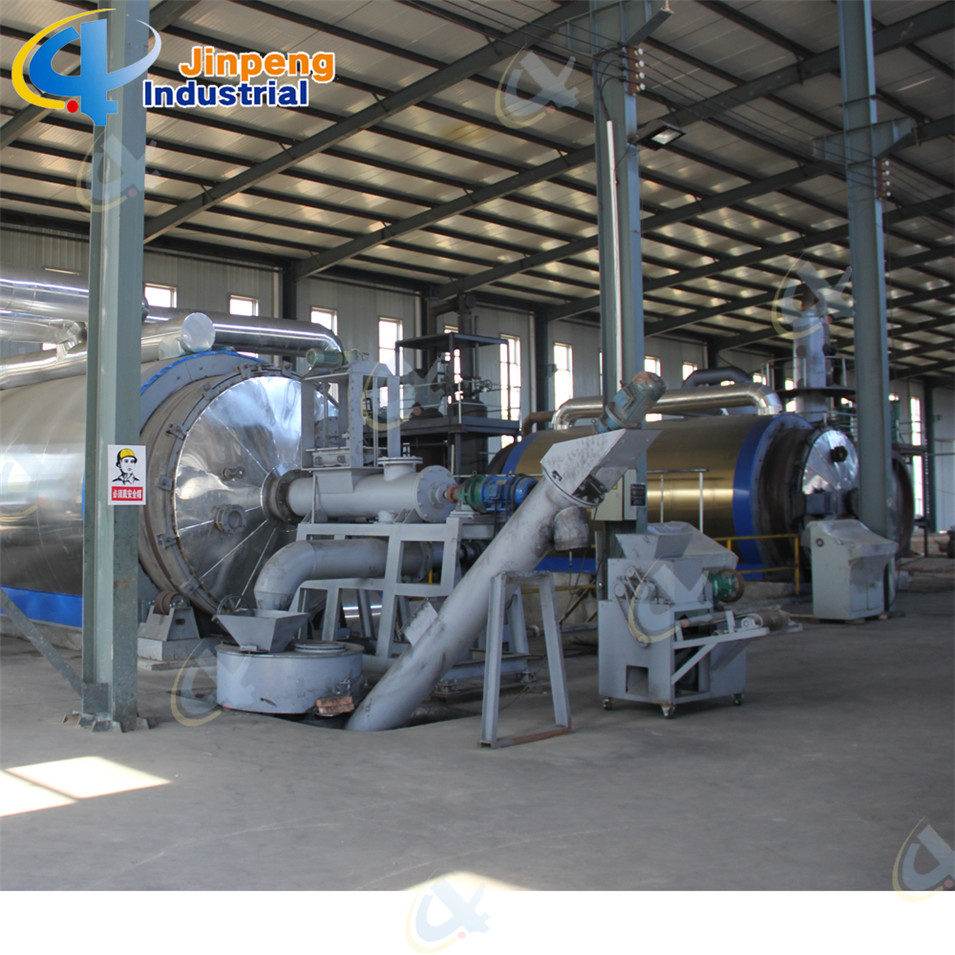 Waste Rubbe/Tyre/Plastic Pyrolysis Equipment