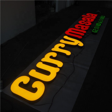 Custom Light Lettering Signs Signage Worldwide