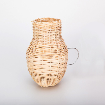 Percell Vase Shaped Large Rattan Bird Nest