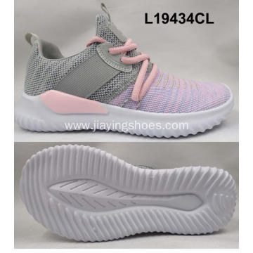 Lady breathable running shoes